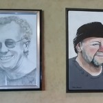 THE WALL OF FAME - LOCAL ARTS LEGENDS JOHN WOOD INGRAM AND JOHN GRUNDEN